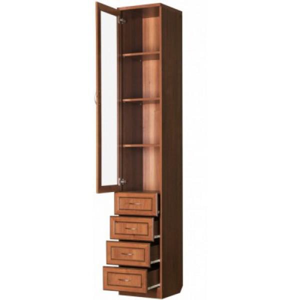 Шкаф для книг с ящиками узкий арт. 205.